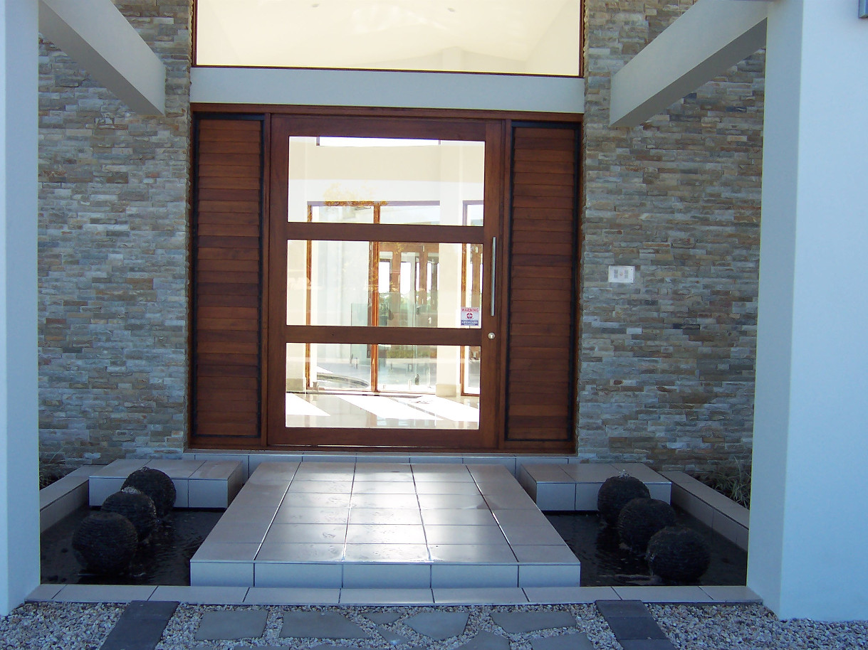 Feature Entrance Stonemasonry