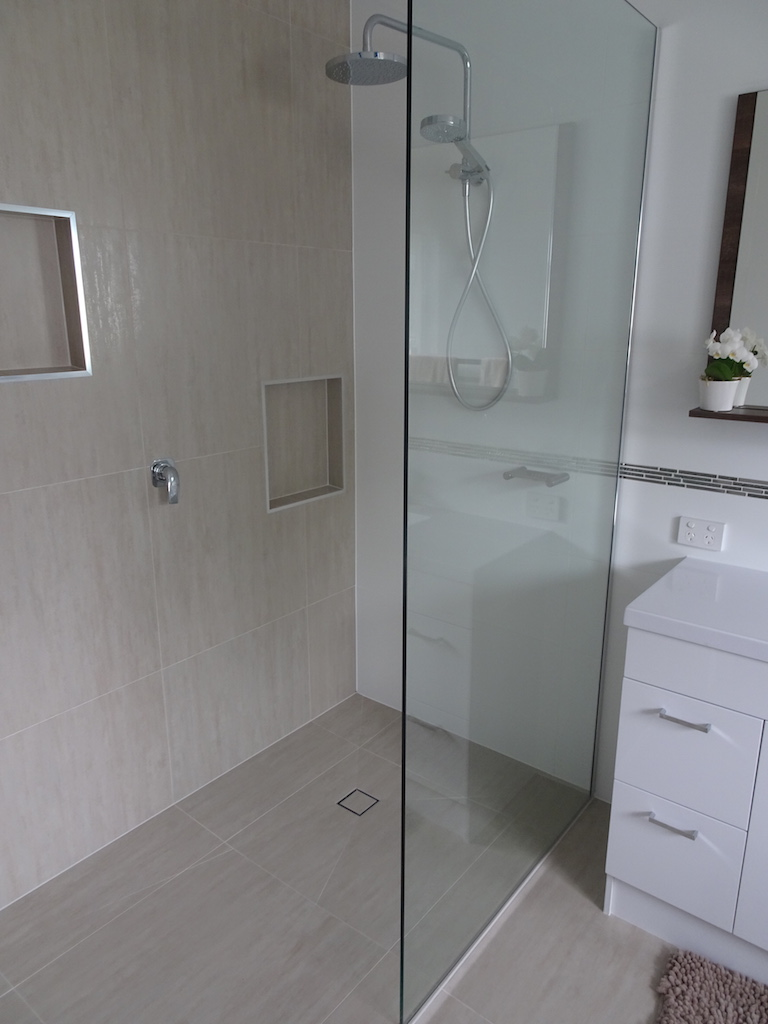 Modern Open Shower Update