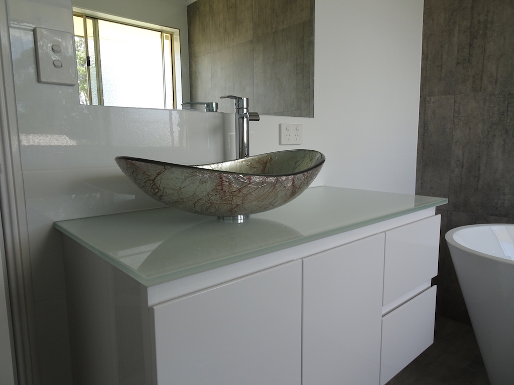 Modern Raised Sink Installation